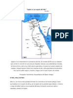 Egipto Es Un Regalo Del Nilo