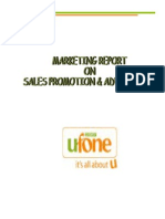 Marketing Report-Ufone