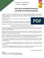 Communiqué Commun CGT Ecomouv' Et Cheminots