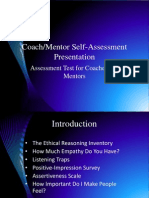 Coach Mentor Self-Assessment Presentation (2)