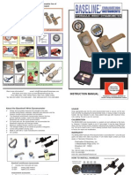 Baseline Hydraulic Wrist and Forearm Dynamometer User Manual