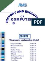 PRESENTATION-History and Evolution of computer