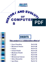 PRESENTATION-History and Evolution of computer