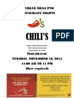 Chili's Flyer Nov 2014