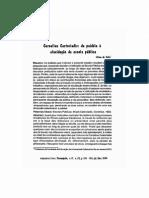 Castoriadis - Da Paideia à Elucidação Da Escola Pública
