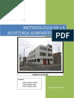 Metodologia de La Auditoria Administrativa Hotel Elitas Inn
