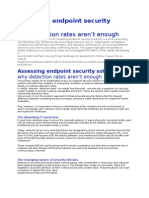 Assessing Endpoint Security Solutions - Why Detection Rates Aren't Enough