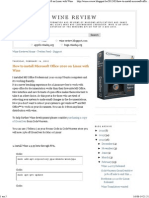 Wine Review_ How to Install Microsoft Office 2010 on Linux With Wine
