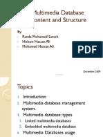 OODB Research [Multimedia Database]