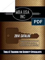 MBA USA 2014 Catalog