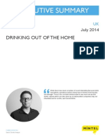 Drinking Out of the Home - UK - July 2014 - Executive Summary
