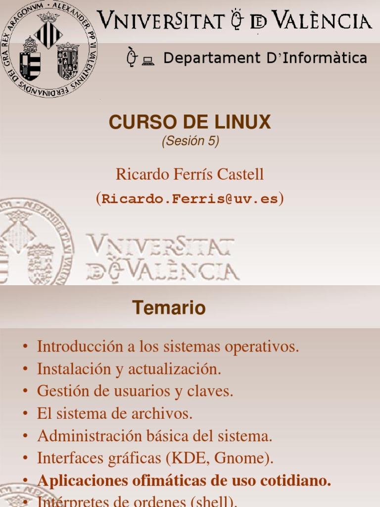 Curso De linux, Administracion de sistemas