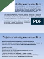 Objetivos Estratégicos y Específicos