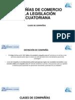 Campaña de comercio en la poblacion ecuatoriana