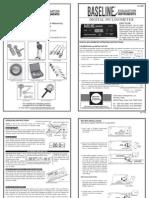 Baseline Digital Inclinometer User Manual