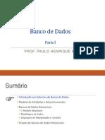 Banco de Dados MER e MR
