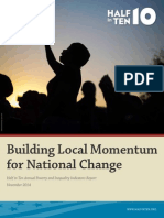 Building Local Momentum for National Change