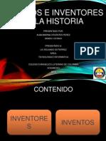 Inventos e Inventores de La Historia