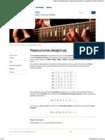 » Resoluciones Deceptivas Curso de Guitarra