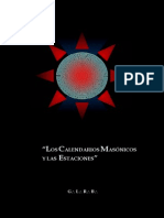 Los Calendarios Masonicos Y Las Estaciones - Glr Bolivia