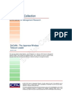 Business Strategy Case Study- DoCoMo