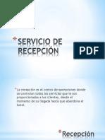SERVICIO DE RECEPCIÓN.pptx