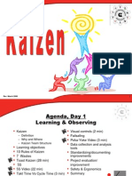 Training slides for Kaizen