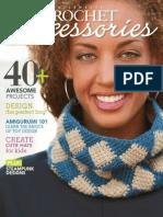 revista crochet accesorios