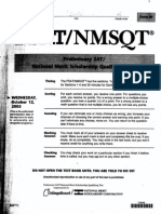 2005 October 12 PSAT-Test
