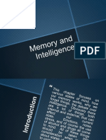 memory intelligence and states of mind
