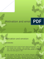 motivation and emotion 1