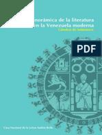 Panorámica de la literatura en la Venezuela moderna | Cátedras de Salamanca