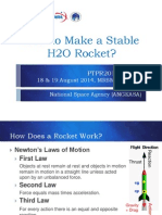 How 2 Make a Stable h2o Rocket