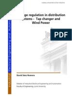 Voltage Regulation in Distribution System