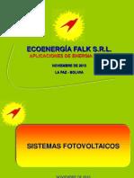 Sistemas Fotovoltaicos 18-11-2013