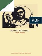 Álvaro Montero | Poesía Reunida