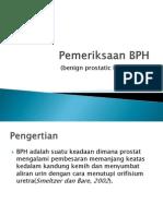 Pemeriksaan BPH