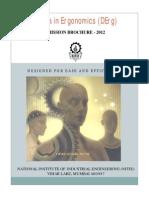 Diploma in Ergonomics (DErg) Brochure