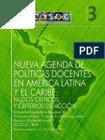 .Nueva.agenda.de.Politicas Docentes 2011