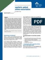 Management Acute Asthma Exacerbation