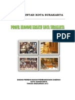 Profil Ekonomi Kreatif Kota Surakarta 2013