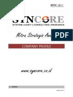 Company Profile Syncore Agustus 2012