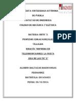 Ensayo de La Reforma Telecom