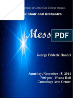 Connecticut College Messiah Program