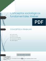 conceptos fundamentales de weber