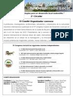 5 Congreso Cubano de Desarrollo Local