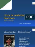 Libros de Celebridades Deportivas