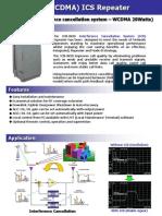 Brochure ICS Repeater(20W) WCDMA
