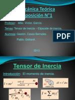 Mecánica Teórica Exposición N_1