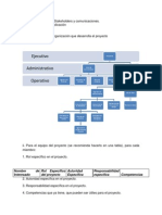 Taller Final Planeación IV RRHH, Stakeholders y Comunicaciones